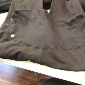 Maternity 7/8 black leggings